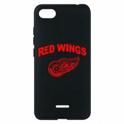Чехол для Xiaomi Redmi 6A Detroit Red Wings - FatLine