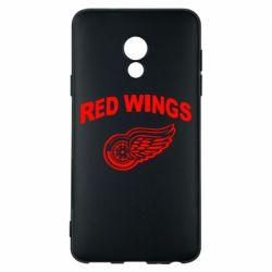 Чехол для Meizu 15 Lite Detroit Red Wings - FatLine