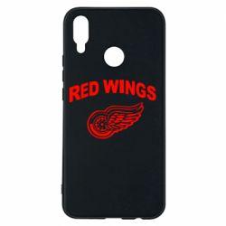 Чехол для Huawei P Smart Plus Detroit Red Wings - FatLine