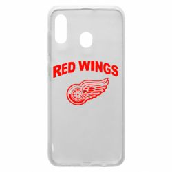Чохол для Samsung A20 Detroit Red Wings