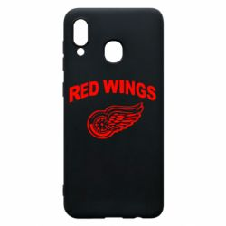 Чохол для Samsung A30 Detroit Red Wings