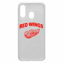 Чохол для Samsung A40 Detroit Red Wings