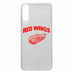 Чохол для Samsung A70 Detroit Red Wings