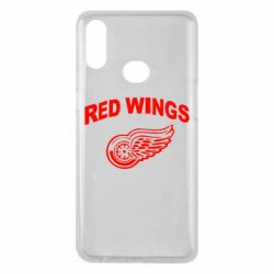 Чохол для Samsung A10s Detroit Red Wings
