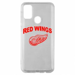 Чохол для Samsung M30s Detroit Red Wings
