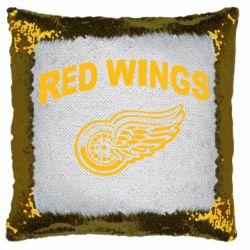 Подушка-хамелеон Detroit Red Wings