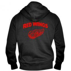 Мужская толстовка на молнии Detroit Red Wings - FatLine
