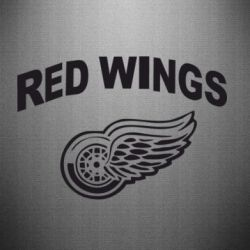 Наклейка Detroit Red Wings
