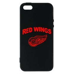 Чохол для iphone 5/5S/SE Detroit Red Wings