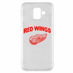 Чохол для Samsung A6 2018 Detroit Red Wings