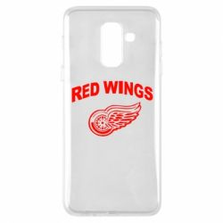Чохол для Samsung A6+ 2018 Detroit Red Wings