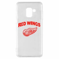 Чохол для Samsung A8 2018 Detroit Red Wings