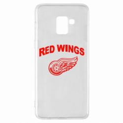 Чохол для Samsung A8+ 2018 Detroit Red Wings