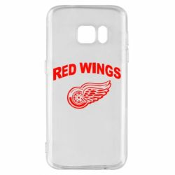 Чохол для Samsung S7 Detroit Red Wings