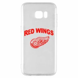 Чохол для Samsung S7 EDGE Detroit Red Wings