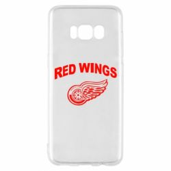 Чохол для Samsung S8 Detroit Red Wings