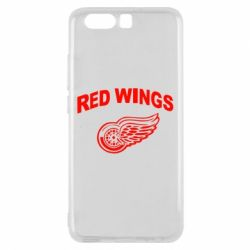 Чехол для Huawei P10 Detroit Red Wings - FatLine