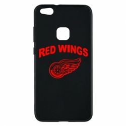 Чехол для Huawei P10 Lite Detroit Red Wings - FatLine