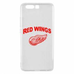 Чехол для Huawei P10 Plus Detroit Red Wings - FatLine
