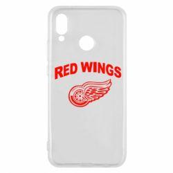 Чехол для Huawei P20 Lite Detroit Red Wings - FatLine