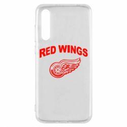 Чехол для Huawei P20 Pro Detroit Red Wings - FatLine