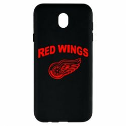 Чохол для Samsung J7 2017 Detroit Red Wings