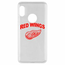 Чехол для Xiaomi Redmi Note 5 Detroit Red Wings - FatLine