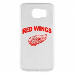 Чохол для Samsung S6 Detroit Red Wings