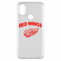 Чехол для Xiaomi Mi A2 Detroit Red Wings