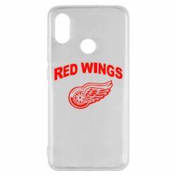 Чехол для Xiaomi Mi8 Detroit Red Wings