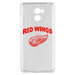 Чехол для Xiaomi Redmi 4 Detroit Red Wings - FatLine