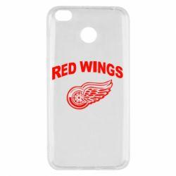 Чехол для Xiaomi Redmi 4x Detroit Red Wings - FatLine