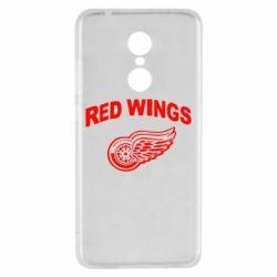 Чехол для Xiaomi Redmi 5 Detroit Red Wings - FatLine