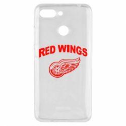 Чехол для Xiaomi Redmi 6 Detroit Red Wings - FatLine