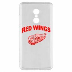 Чехол для Xiaomi Redmi Note 4x Detroit Red Wings - FatLine