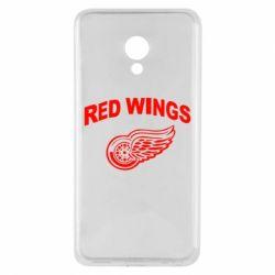 Чехол для Meizu M5 Detroit Red Wings - FatLine