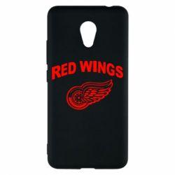 Чехол для Meizu M5c Detroit Red Wings - FatLine