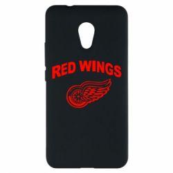 Чехол для Meizu M5s Detroit Red Wings - FatLine