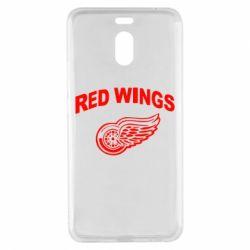 Чехол для Meizu M6 Note Detroit Red Wings - FatLine