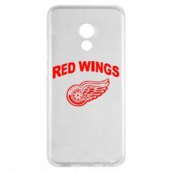 Чехол для Meizu Pro 6 Detroit Red Wings - FatLine