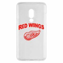 Чехол для Meizu 15 Detroit Red Wings - FatLine