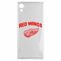 Чехол для Sony Xperia XA1 Detroit Red Wings - FatLine
