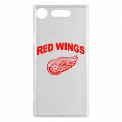 Чехол для Sony Xperia XZ1 Detroit Red Wings - FatLine