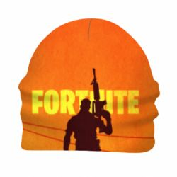 Детская 3D шапка Fortnite minimalist silhouettes