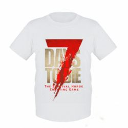 Дитяча футболка 7 Days To Die
