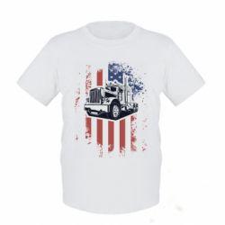 Дитяча футболка American Truck