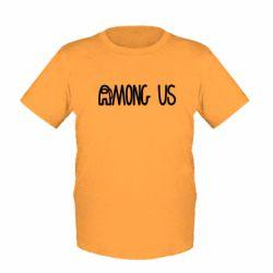 Дитяча футболка Among Us Logo