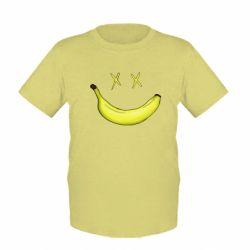 Детская футболка Banana smile