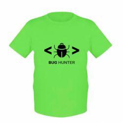 Дитяча футболка Bug Hunter