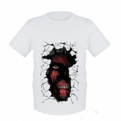 Дитяча футболка Colossal titan
